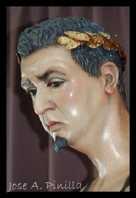 Poncio Pilatos con la Nueva Diadema de Laureles