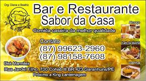 Bar e Restaurante Sabor da Casa BR-424 próximo  de Kong Lanternagem