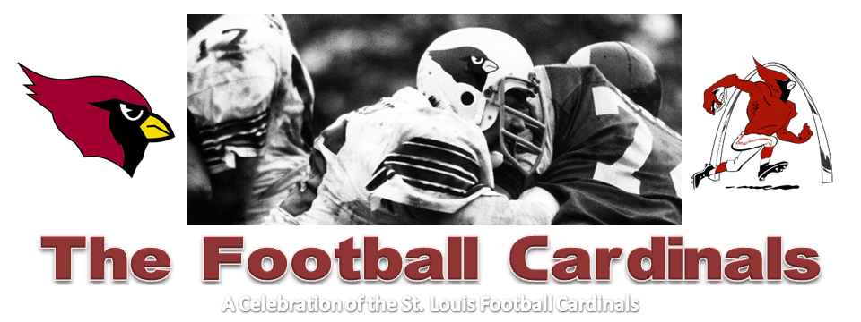 The St. Louis Football Cardinals Scrapbook