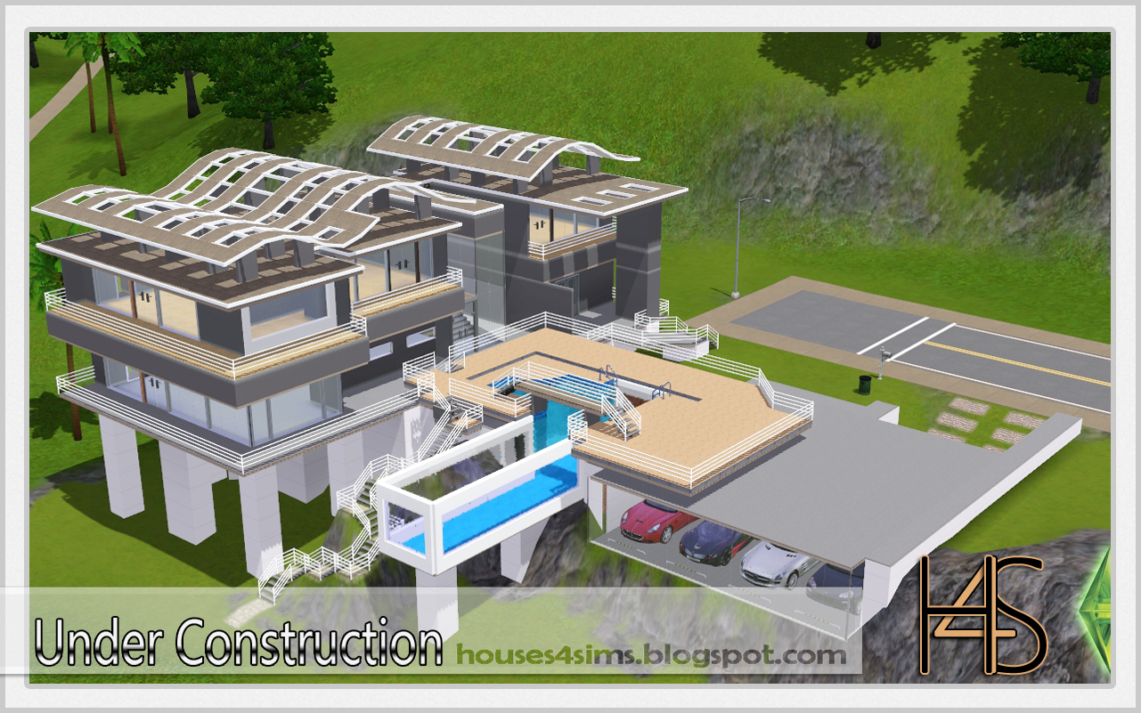 Houses 4 Sims: While the Cement Dries...