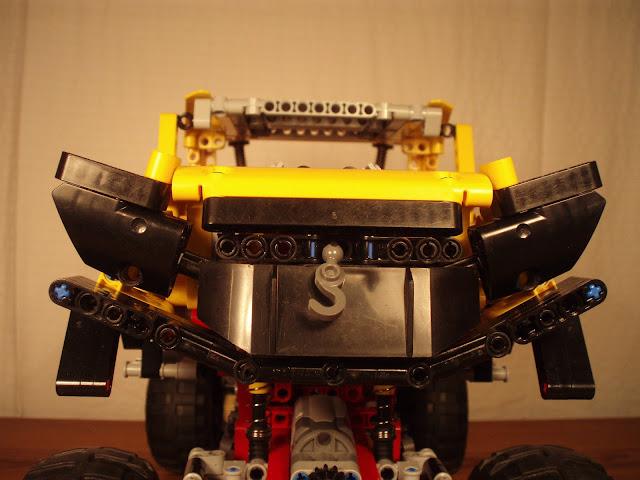 lego technic 4x4 crawler 9398 instructions