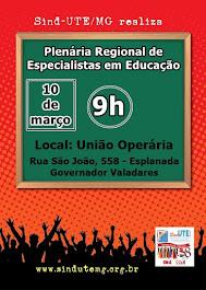Plenária Regional de Especialistas da Educação