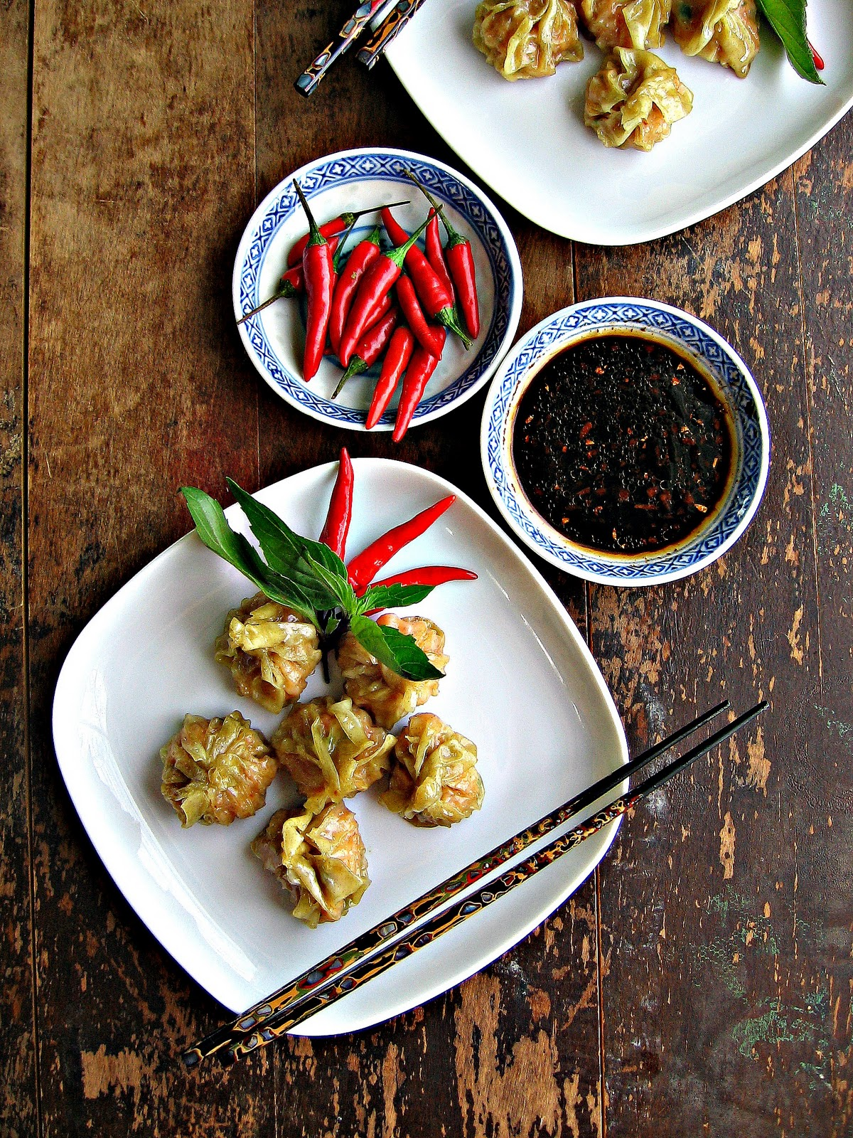 sweetsugarbean: Easy Appie: Red Curry Shrimp Dumplings