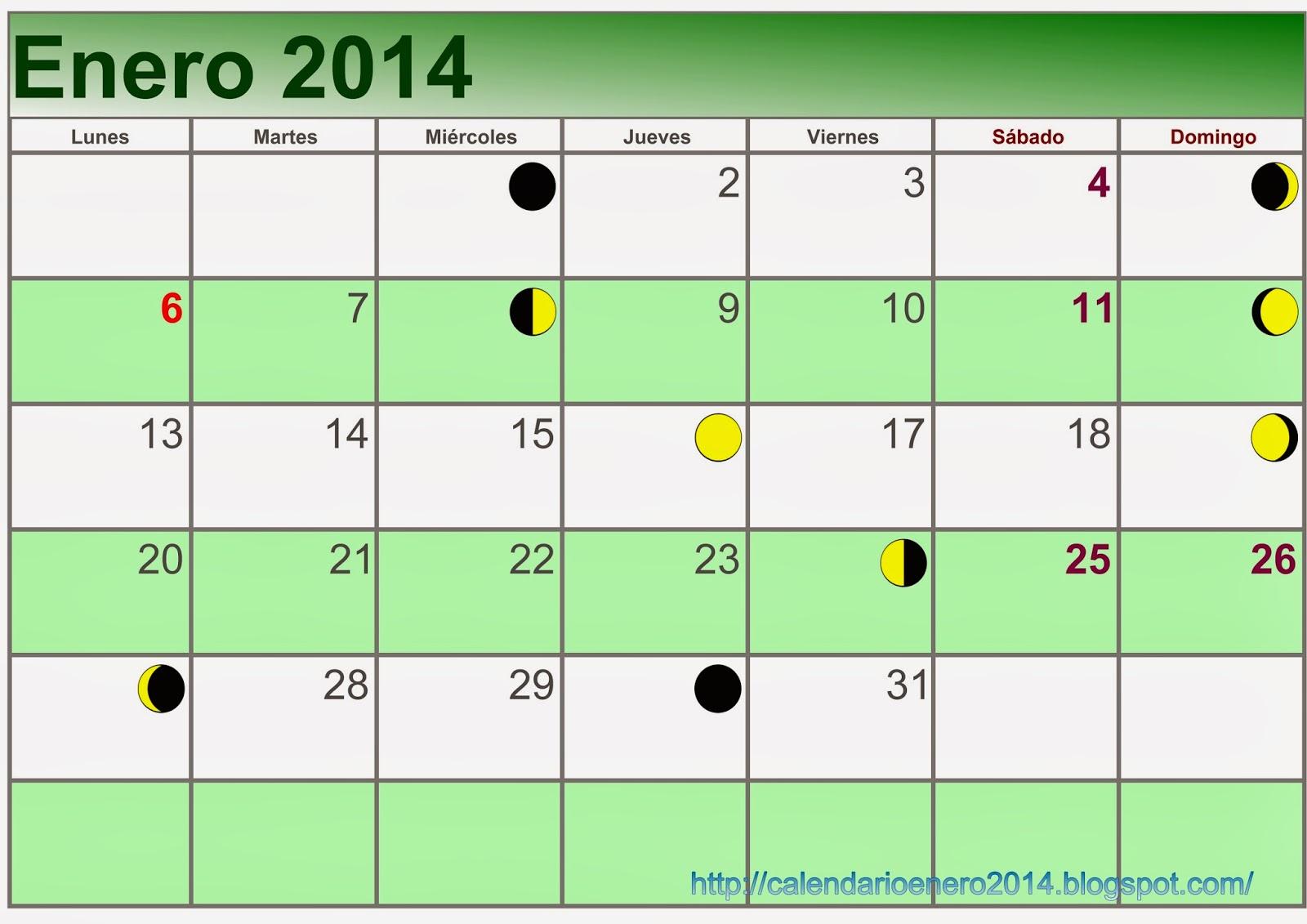 Enero 2014 Para Imprimir