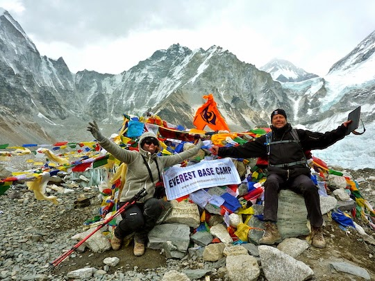 Reaching Everest Base Camp Nepal