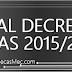 Publicación del Real Decreto de becas mec 2015/2016 | Cambios