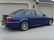 BMW E39 5 SERIES bmw blue