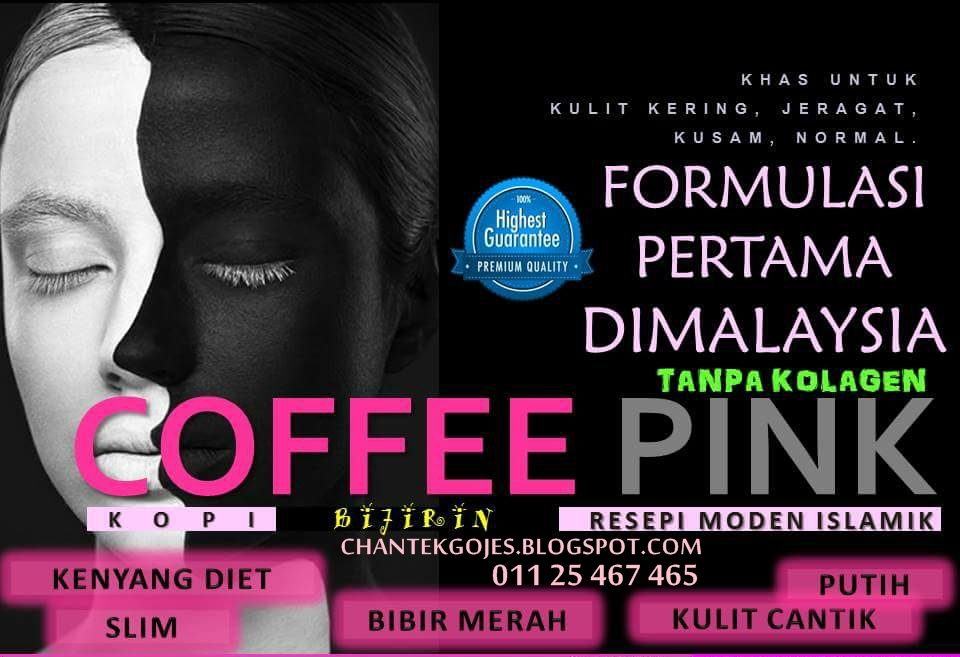 COFFEE PINK 100% ORIGINAL