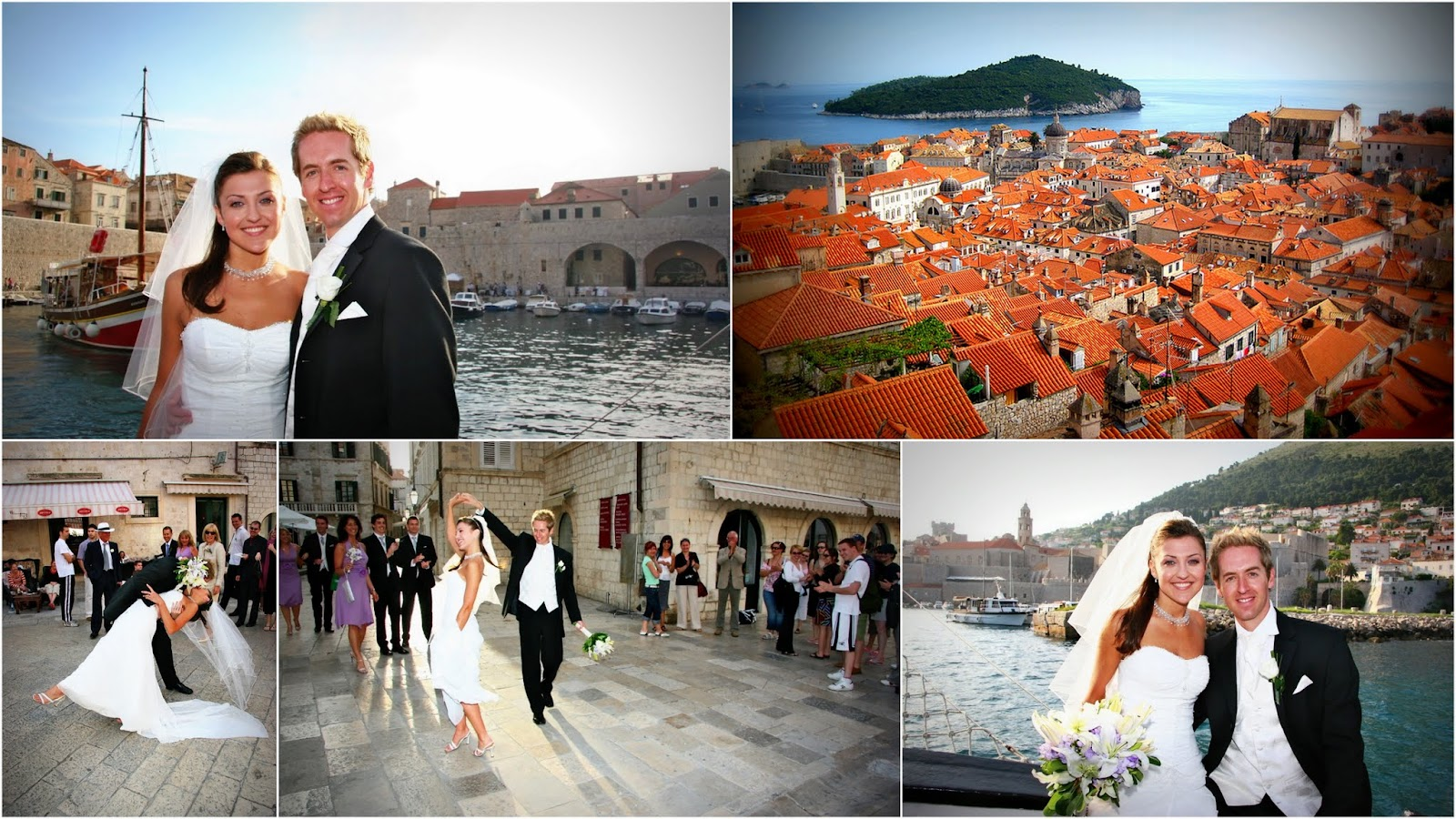 Island wedding Dubrovnik, Croatia