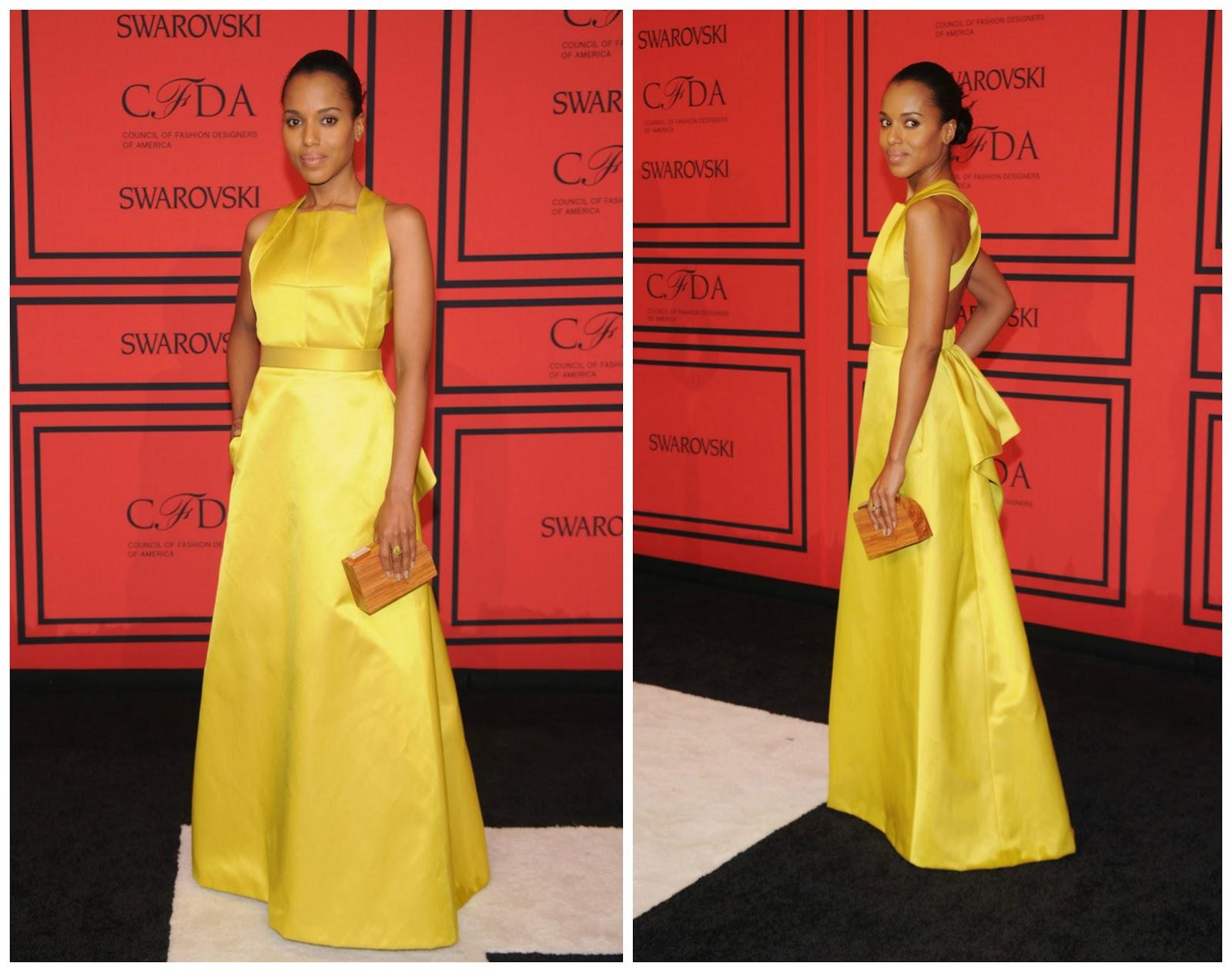 Stylefluid Trendz: Kerry Washington in a Jason Wu Resort 2014 gown ...