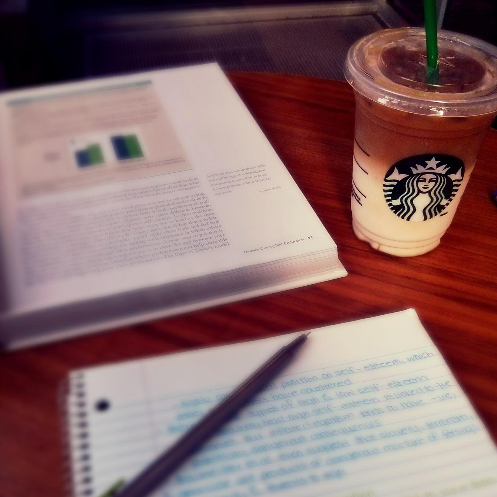 starbucks studying