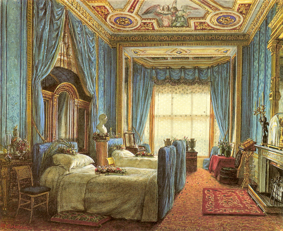 The lothians the royal residences of queen victoria for The blue room