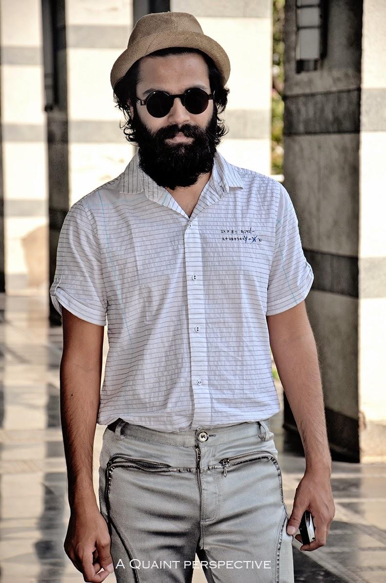 http://aquaintperspective.blogspot.in/,Bharat Mishra in mo- beard