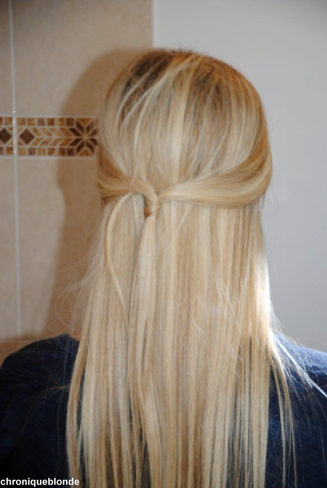 tuto coiffure les cheveux nou s la bardot les chroniques d 39 une blonde. Black Bedroom Furniture Sets. Home Design Ideas