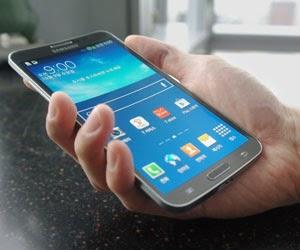 Samsung Galaxy Round - Curved Display Smartphone
