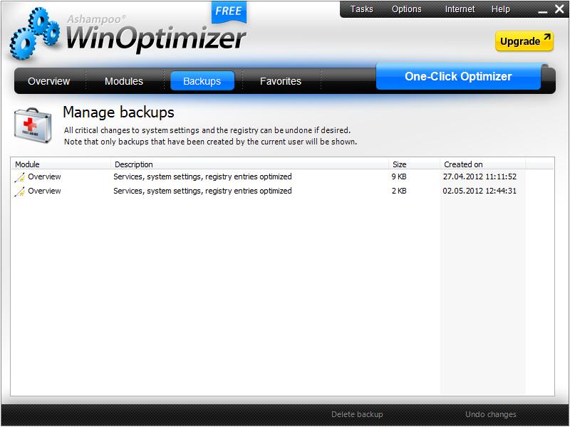 Optimalkan Sistem Dengan WinOptimizer