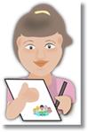 Ofícios de doação, cartas, convites para departamento infantil.