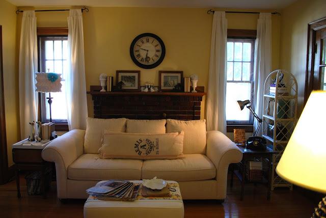 Oakview Cottage: Living Room Rearranged
