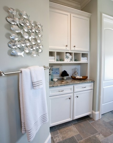 7 Traditional Coastal Bathrooms All in the same Home Completely – Coastal Bathrooms