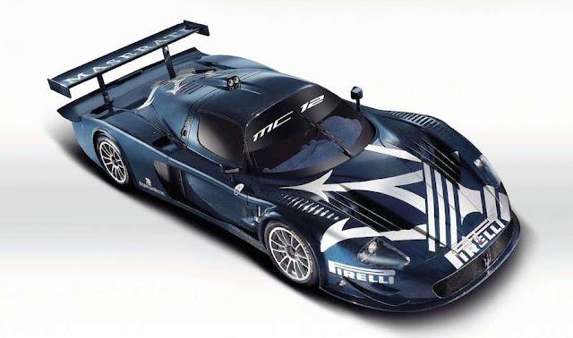 スーパーカー マセラティMC12