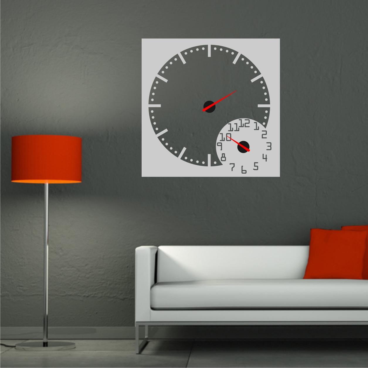 Relojesyvinilos relojes de pared con dos mecanismos - Mecanismo reloj pared ...