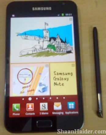 Samsung GALAXY Note Hands-on Review