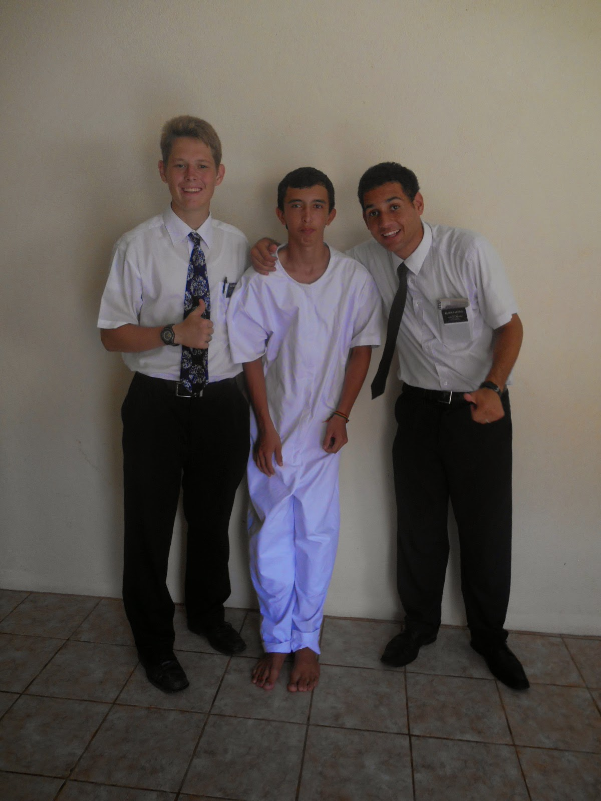 Brett, Igor, and Elder Castro