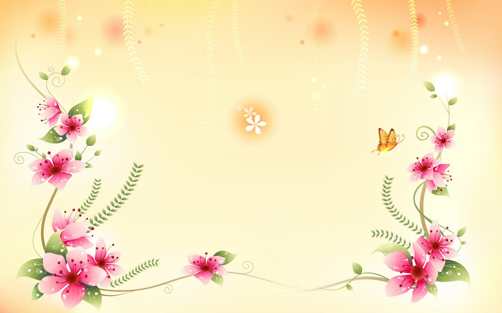 Moons Flower: Flower Background