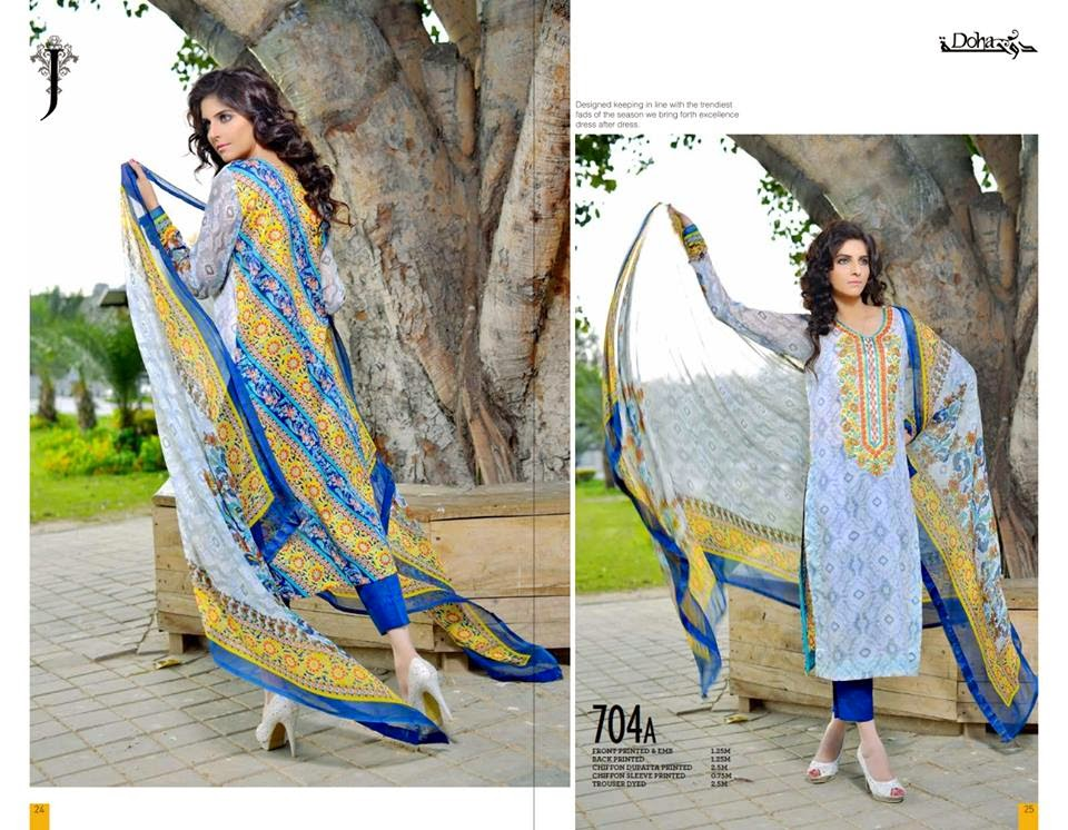 Jubilee lawn summer collection 2015