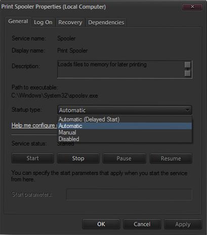 How to Fix Print Spooler in Windows 7