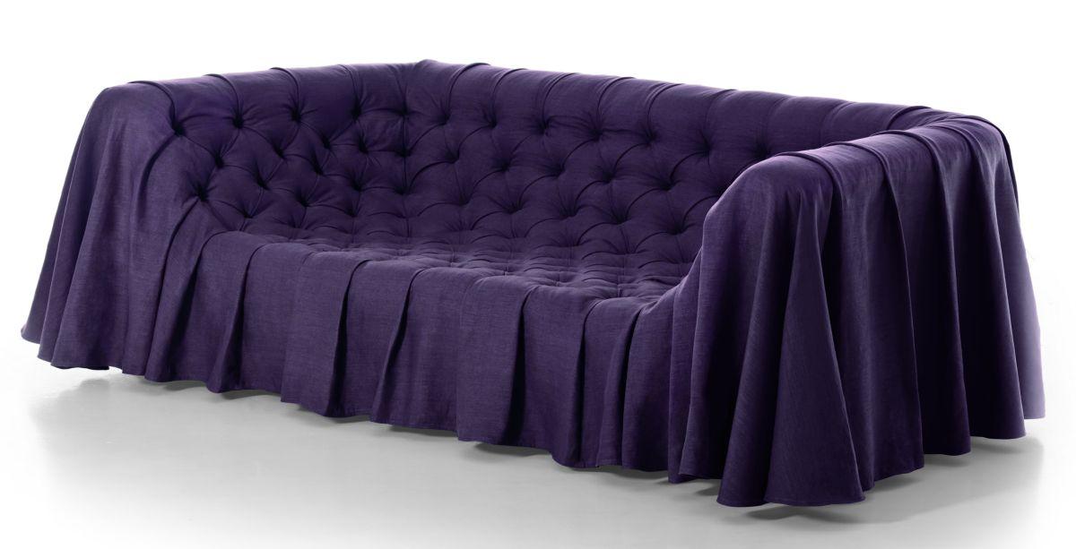 OMG Linen Draped Sofa