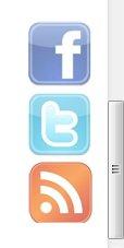 Cara Mudah Membuat Widget Facebook, Twitter, Feed Melayang di Pojok Blog
