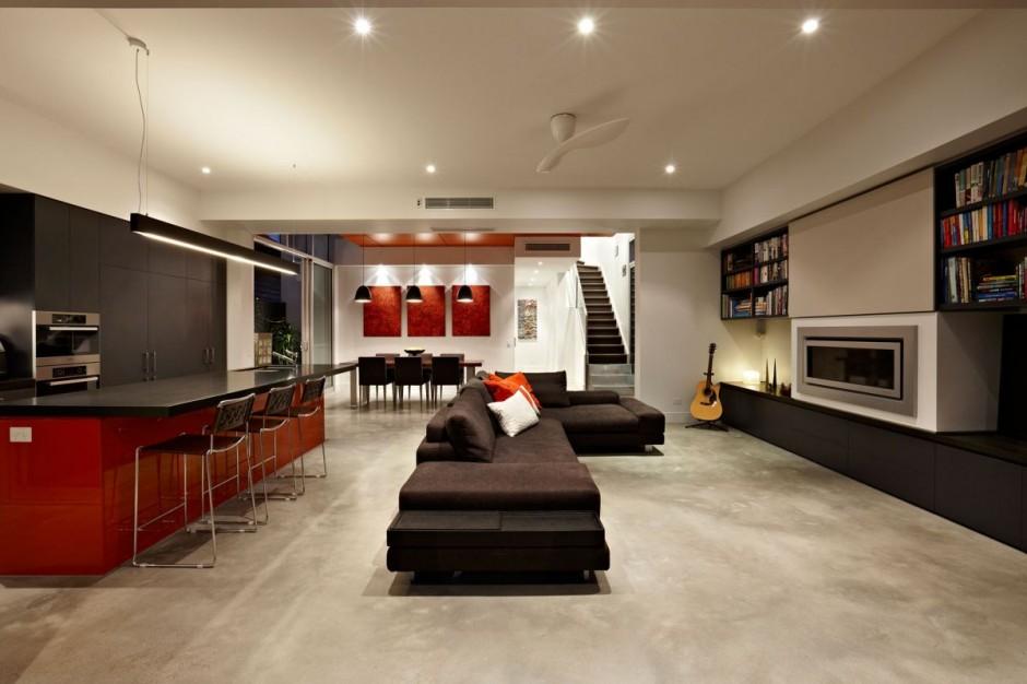 Diseño de interiores & arquitectura: residencia ecléctica: south ...