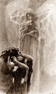 Mikhail Vrubel - Angel and Demon