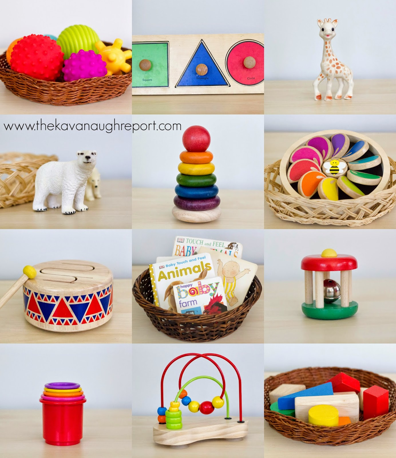 Toys For 20 : Montessori baby toys to months