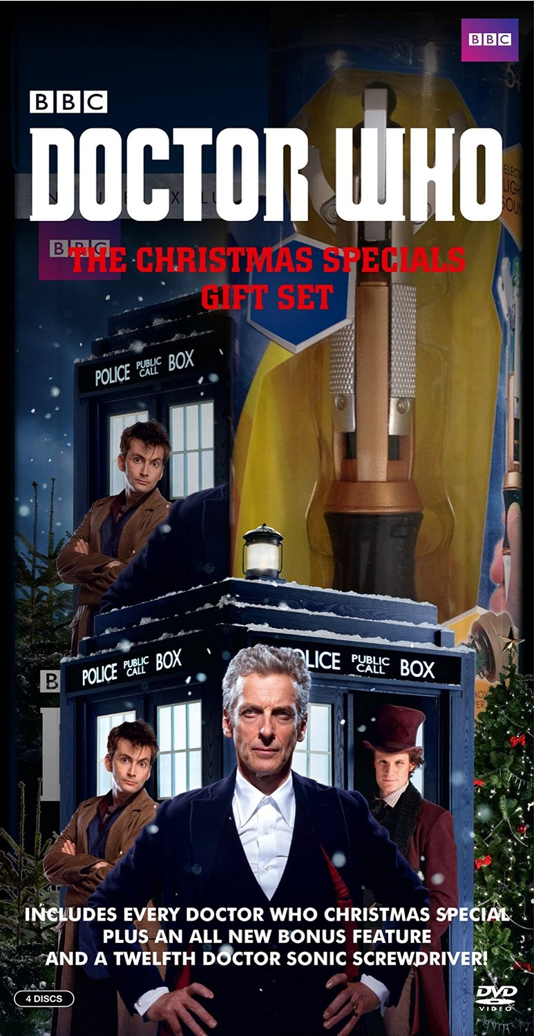 USA: Doctor Who - The Christmas Specials DVD & Blu-Ray Box Sets Out ...