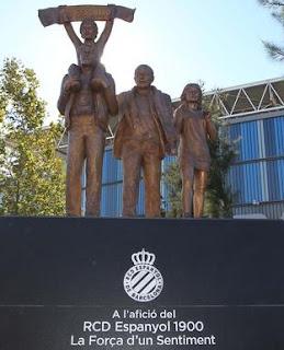 RCD Espanyol, estatua, afición