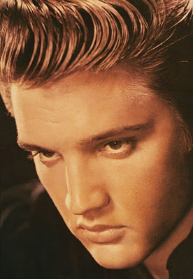 A young Elvis Presley photo