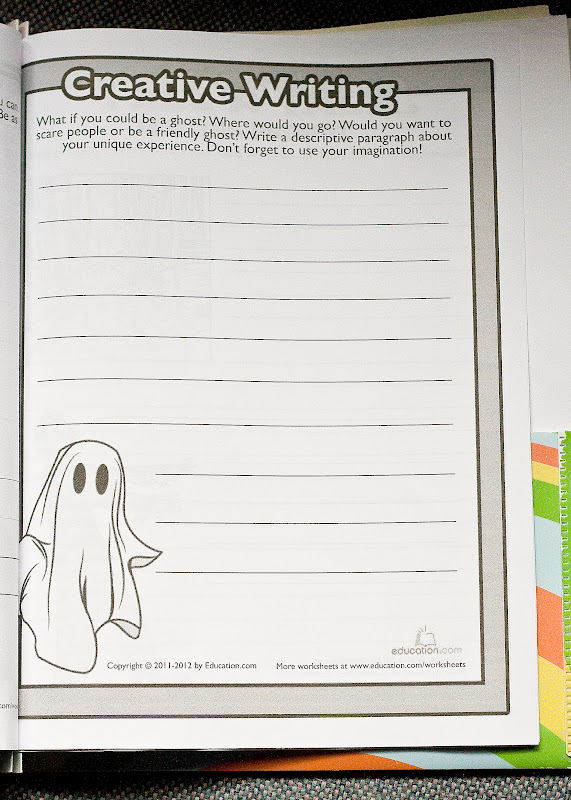 Creative writing worksheets for grade 4