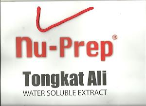 Tongkat Ali Nu-Prep 100 ' Bersaintifik & Berkriteriakan WHO '
