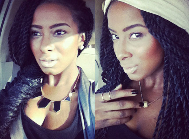 Long Senegalese Twists Styles