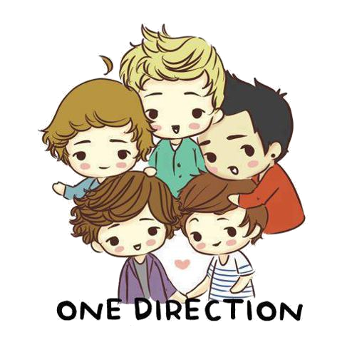 Imágenes PNG••: Caricaturas de One Direction PNG