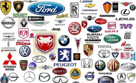 Logos de marcas de coches