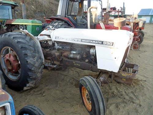 David Brown 990 tractor parts