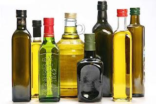 óleos para o alisamento natural