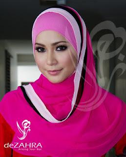 Foto Artis Wanita Cantik Berjilbab Malaysia