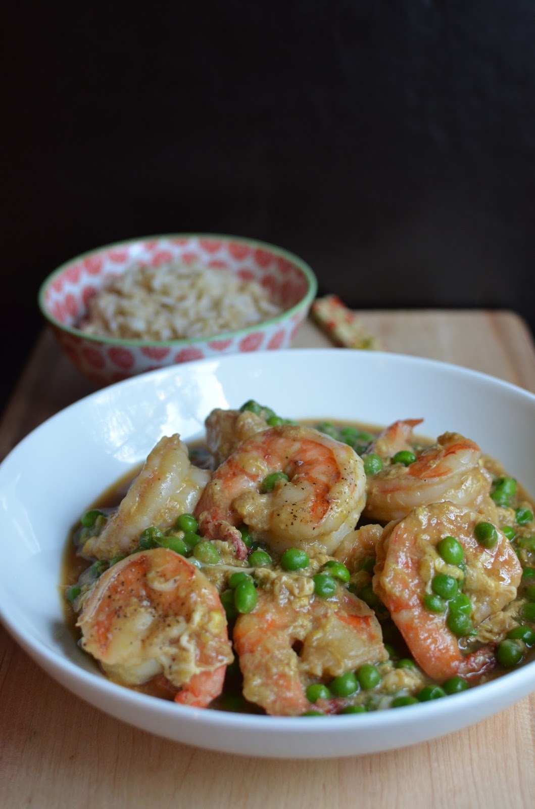 Playing with Flour: Shrimp with lobster sauce (because I love Chinese ...