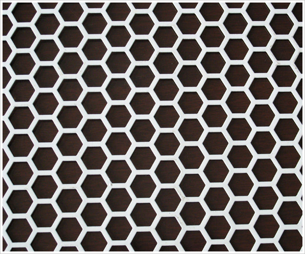 Perforated Stainless Steel Sheet Pattern
