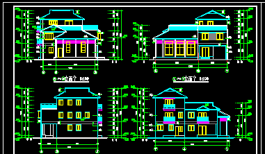 autocad drawing of residential house free download download center