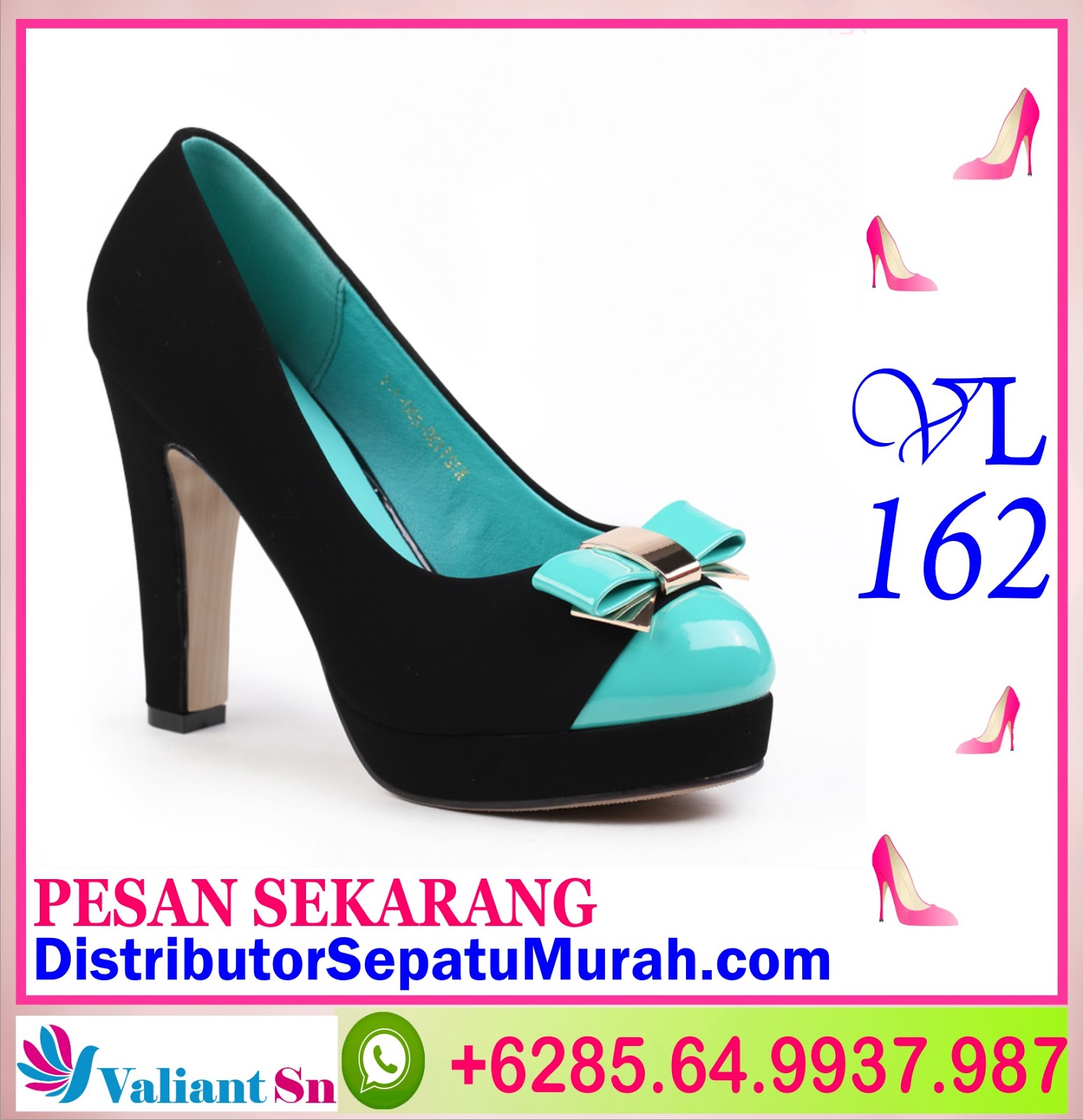 VL162 Sepatu Wanita Jual Sepatu Kantor Sepatu line Shop 62 8564 993 7987